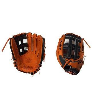 """RAWLINGS Gant Softball Heart of the Hide Custom 13"""" Orange/Noir"""