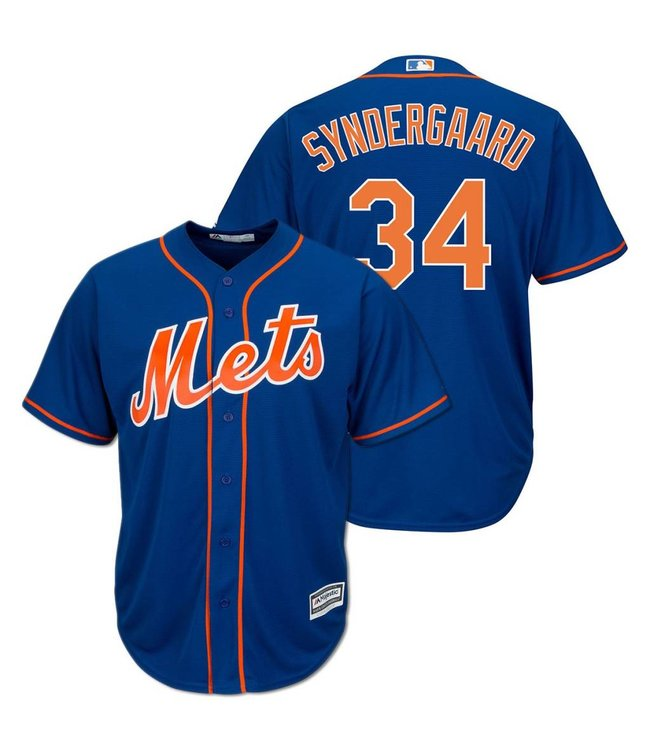 timeless design cc5a5 89502 MAJESTIC Noah Syndergaard Coolbase Replica Jersey