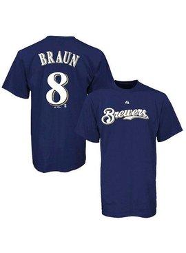 MAJESTIC T-Shirt Junior R. Braun