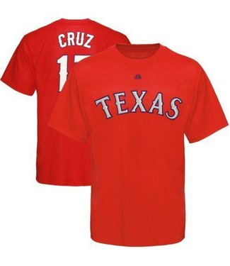 MAJESTIC NELSON CRUZ RANGERS YOUTH T-Shirt Medium
