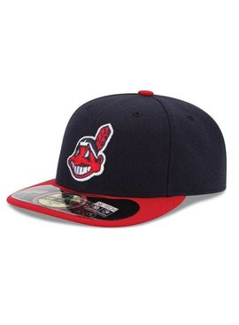 NEW ERA Authentic Cleveland Indians Home Cap
