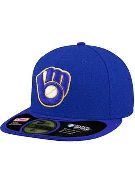 NEW ERA Authentic Milwaukee Brewers Alternate Cap