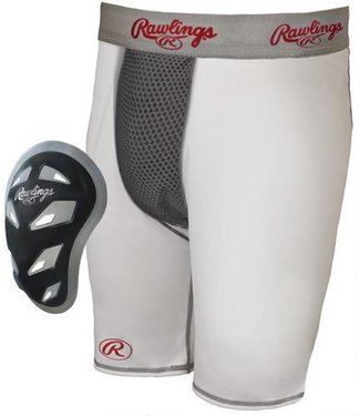 RAWLINGS RG740 Compression Short With Cage Cup