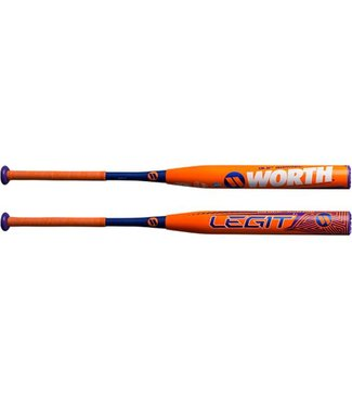 "WORTH Legit Harvey XL 13.5"" Barrel USSSA Softball Bat"