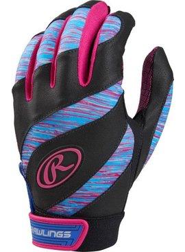 RAWLINGS FPWSBG Eclipse Girl's Batting Gloves