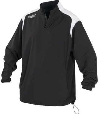 RAWLINGS Youth 1/4 Zip Long Sleeve Jacket