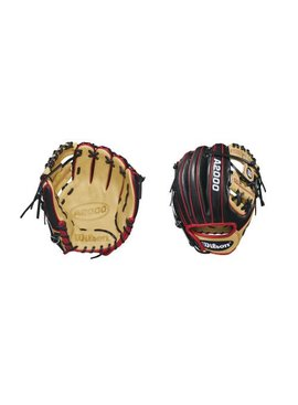 "WILSON A2000 DP15 1788 Pedroia Fit 11.25"" Baseball Glove"