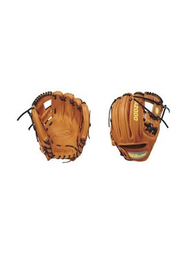 "WILSON A2000 DP15 Pedroia Fit Orange 11.5"" Baseball Glove"