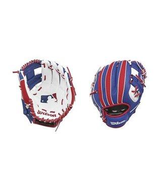 "WILSON A200 Mlb Batter Logo 10"" Youth Baseball Glove"