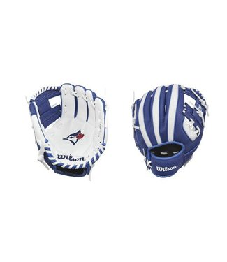 "WILSON A200 Blue Jays 10"" Youth Baseball Glove"