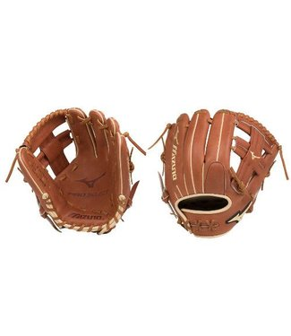 "MIZUNO GPS1-400R Pro Select 11.5"" Brown Baseball Glove"