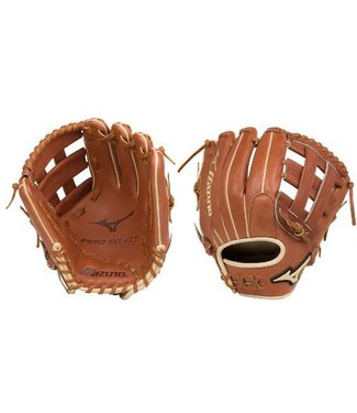 "MIZUNO GPS1-600D Pro Select 11.75"" Brown Baseball Glove"