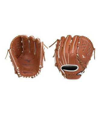 "MIZUNO GPSF1250 Pro Select FP 12.5"" Brown Fastpitch Glove"