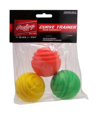 RAWLINGS Balles d'Entraînement Curve Trainer (pqt. 3)