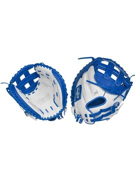 "RAWLINGS RLACM33FPWR Liberty Advanced 33"" Catcher's Fastpitch Glove Right-Hand Throw"