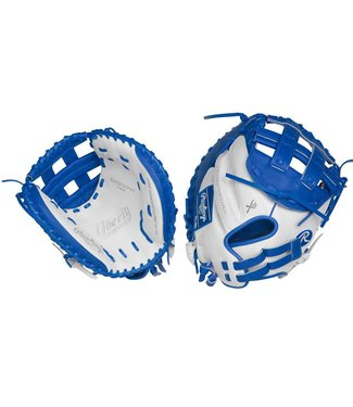 "RAWLINGS RLACM33FPWR Liberty Advanced 33"" Catcher's Fastpitch Glove Lance de la Droite"