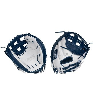 "RAWLINGS RLACM33FPWN Liberty Advanced 33"" Catcher's Fastpitch Glove Right-Hand Throw"