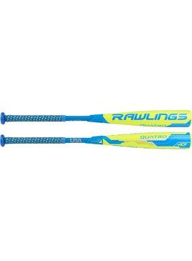 "RAWLINGS Quatro 2 5/8"" USA Youth Baseball Bat (-10)"