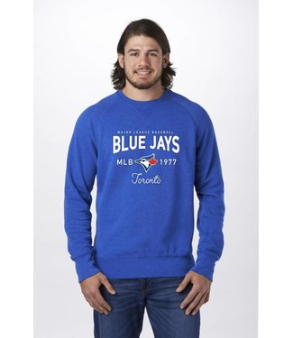 CAMPUS CREW Blue Jays Crew Neck M7867BJ