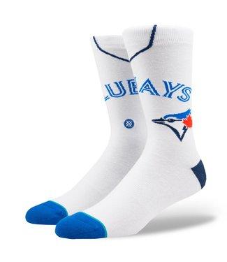 Stance MLB Home Blue Jays Blanc