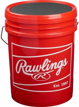 RAWLINGS Rawlings Empty Bucket with Baseball Town Logo