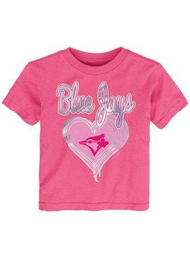 OUTERSTUFF Unfoiled Love Toronto Blue Jays Kids Short Sleeve Shirt