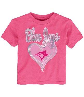 MAJESTIC Unfoiled Love Toronto Blue Jays Kids Short Sleeve Shirt
