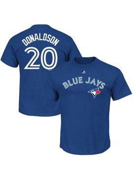 MAJESTIC HD Cotton Blue Jays Donaldson Youth Shirt