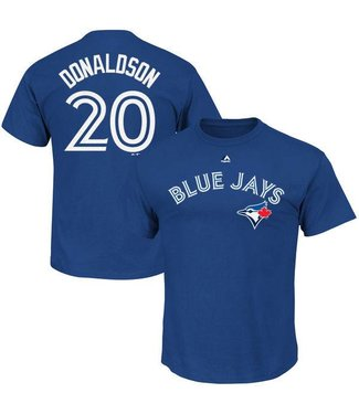 MAJESTIC HD Cotton Blue Jays Donaldson Shirt