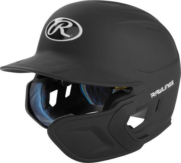 RAWLINGS 1-Tone Mach Batting Helmet with Extender