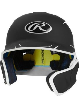 RAWLINGS 2-Tone Mach Batting Helmet with Extender
