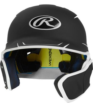 RAWLINGS 2-Tone Mach Batting Helmet with Extender
