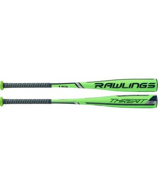 "RAWLINGS US9T12 Threat 2 5/8"" USA Youth Baseball Bat (-12)"