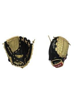 "RAWLINGS G206-12BC Gamer XLE 12"" Black/Camel Baseball Glove"