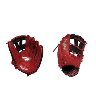 "RAWLINGS Gant de Baseball GNP4-7SB Gamer XLE 11.5"" Rouge/Noir"