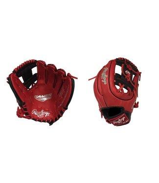 "RAWLINGS Gant de Baseball G312-2SB Gamer XLE 11.25"" Rouge/Noir"