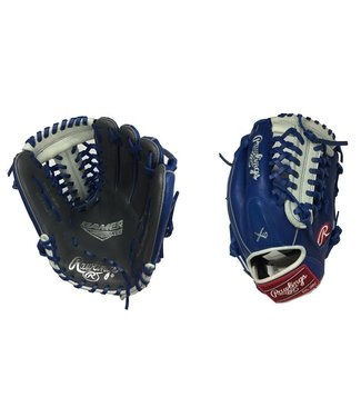 "RAWLINGS Gant de Baseball G205-4GRW Gamer XLE 11.75"" Bleu Royal/Graphite"
