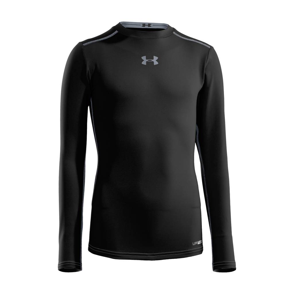 5b4261a6 UNDER ARMOUR YOUTH HEAT GEAR COMPRESSION LONGSLEEVE