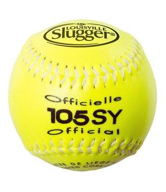 LOUISVILLE SLUGGER Balle de Softball 105SY (Un)