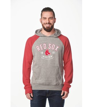 CAMPUS CREW Men's Colour Block Hood Boston Red Sox