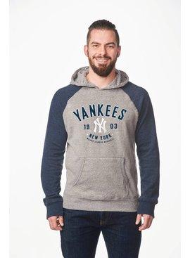 CAMPUS CREW Men's Colour Block Hood New York Yankees