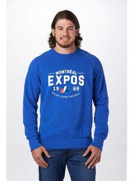 CAMPUS CREW Montreal Expos Crew Neck