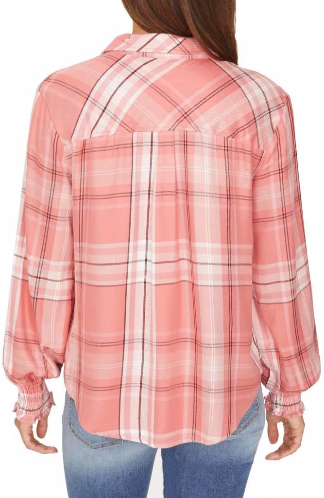 Sanctuary Clothing Riverside Smocked Shirt