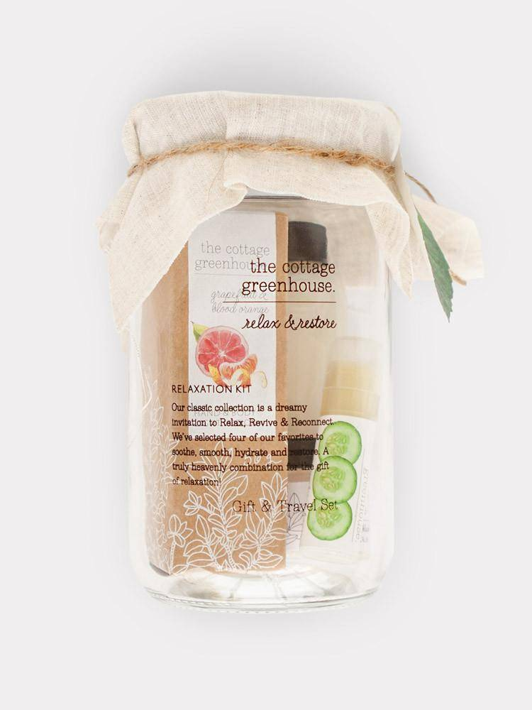 COTTAGE GREENHOUSE Fruits Relaxation Gift Set