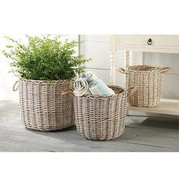 Mud Pie WICKER BASKET
