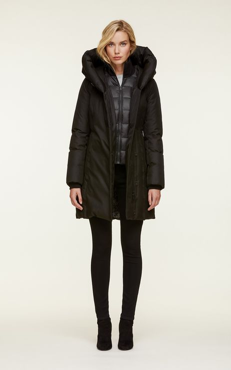 Soia & Kyo Camelia Heavy Down Coat