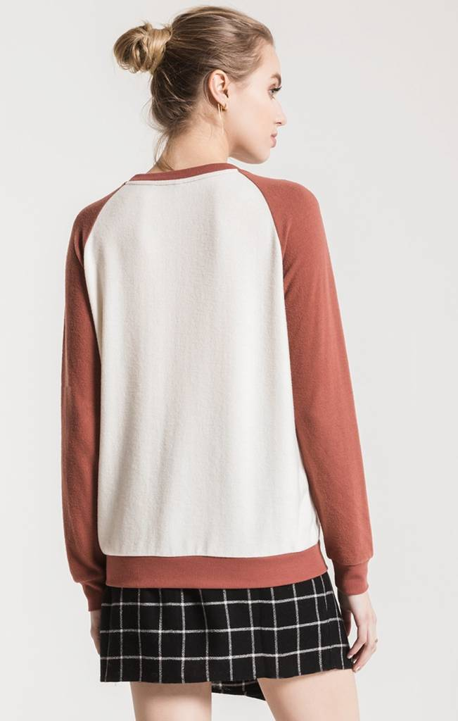 Z Supply The Soft-Spun Knit Raglan