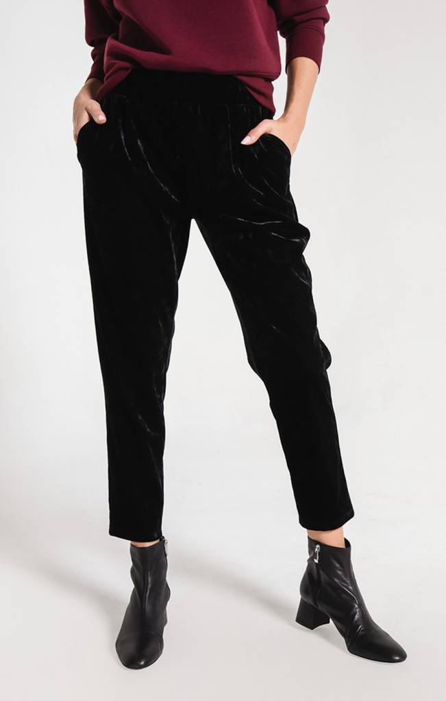 Z Supply The Crushed Velour Trouser
