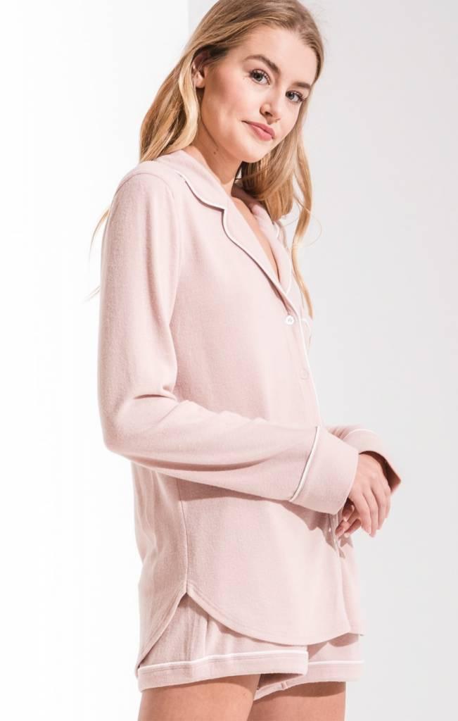 Z Supply The Menswear Pajama Shirt