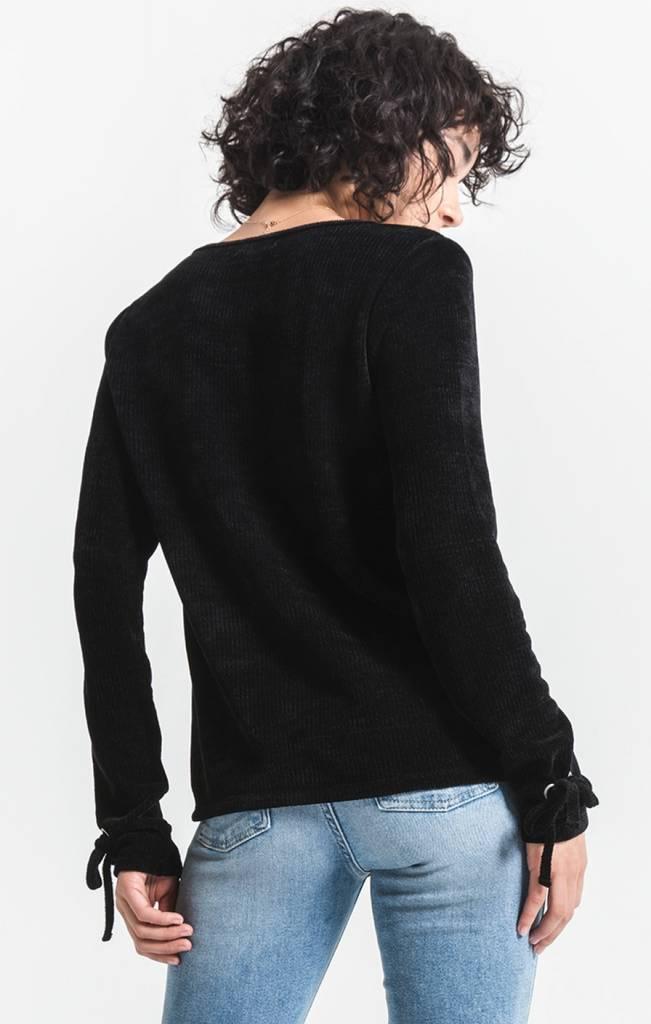Rag Poets Vega Chenille Knit Sweater